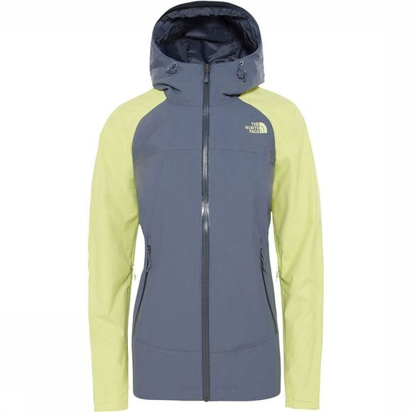 The North Face Stratos Jas Dames Middengrijs/Lime