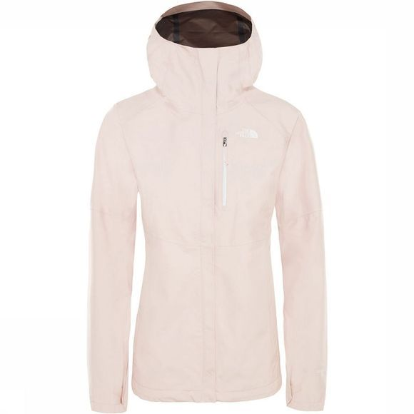 The North Face Dryzzle Jas Dames Lichtroze