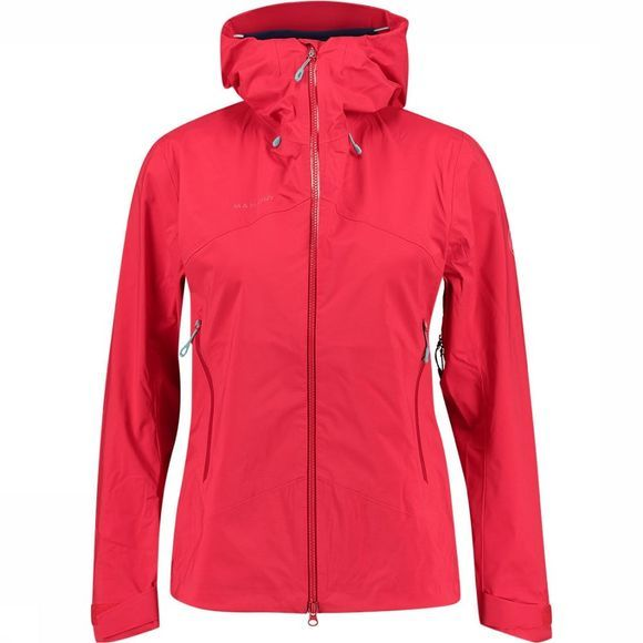 Mammut Kento HS Hooded Jas Dames Middenrood