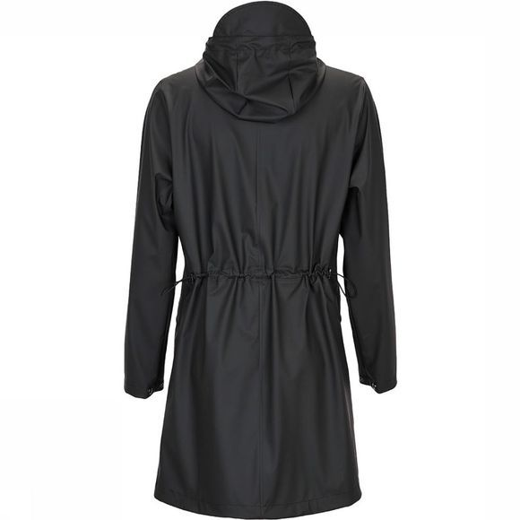 Rains W Coat Jas Dames Zwart