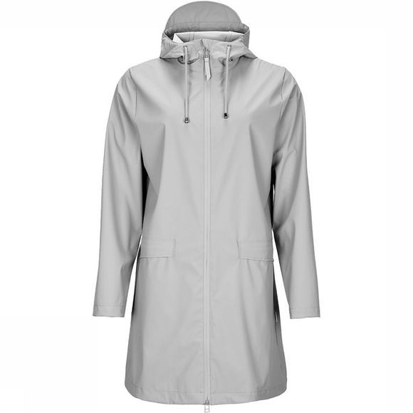 Rains W Coat Jas Dames Middengrijs