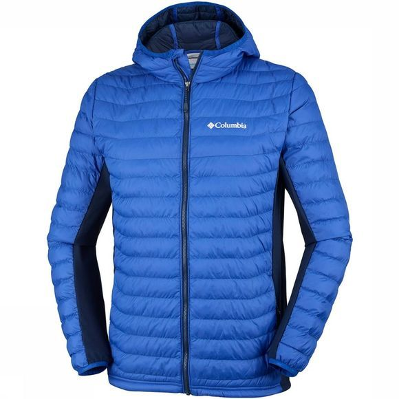 Columbia Powder Lite  Hybrid Hooded Jas Koningsblauw