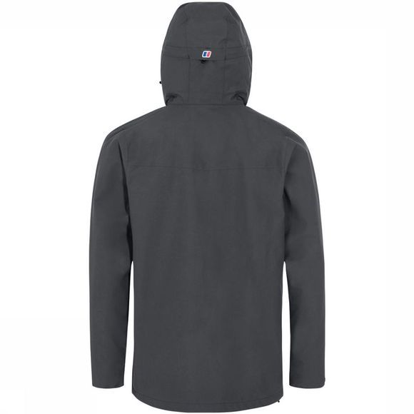 Berghaus Deluge Vented Jas Donkergrijs