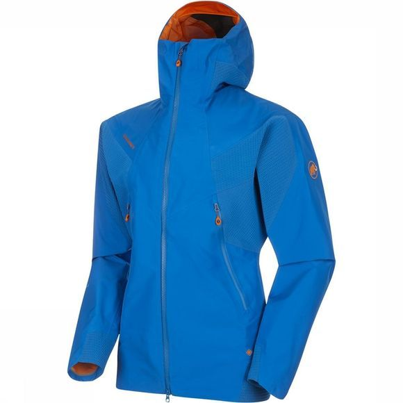 Mammut Nordwand HS Flex Hooded Jas Middenblauw