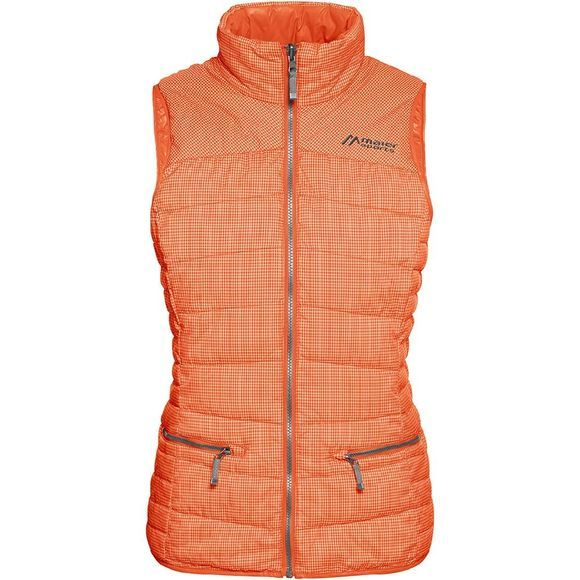 Maier Sports Carpegna Bodywarmer Dames Oranje