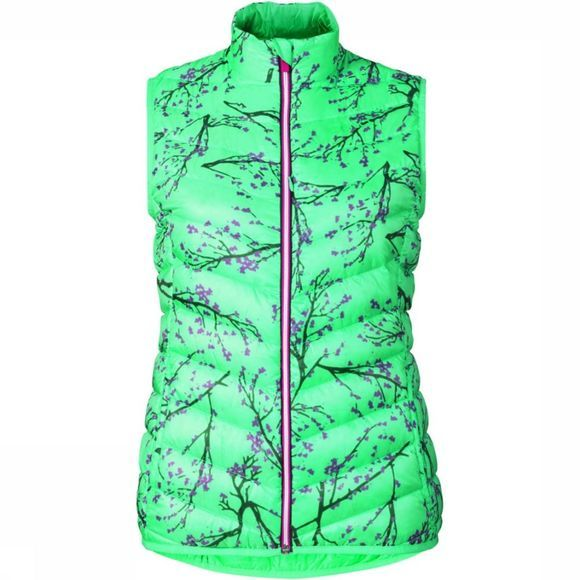 Odlo Air Cocoon Bodywarmer Dames Lime