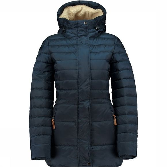 Nylon Dull Down Coat Jas Dames