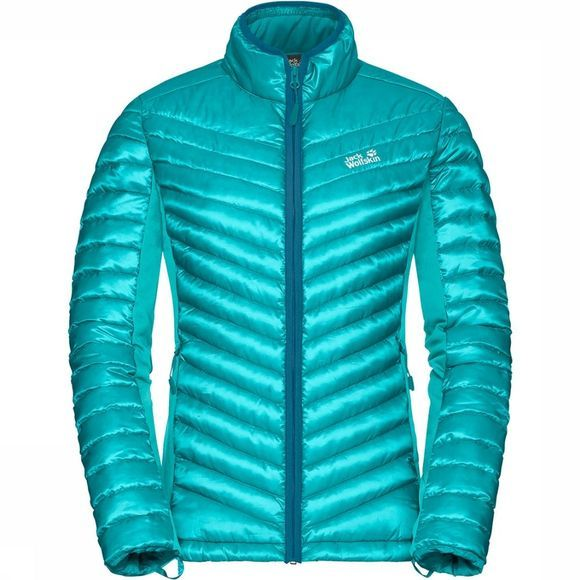 Jack Wolfskin Exolight 3IN1 Jas Dames Turkoois