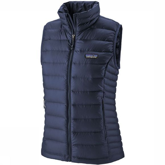 Patagonia Down Sweater Bodywarmer Dames Marineblauw