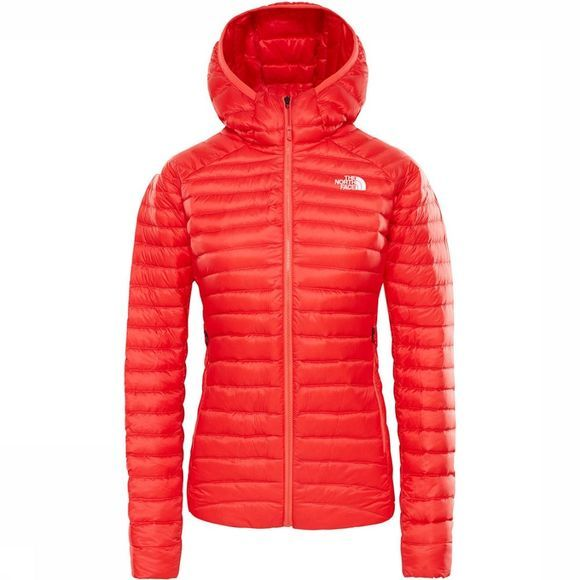 The North Face Impendor DN Hooded Donsjas Dames Rood