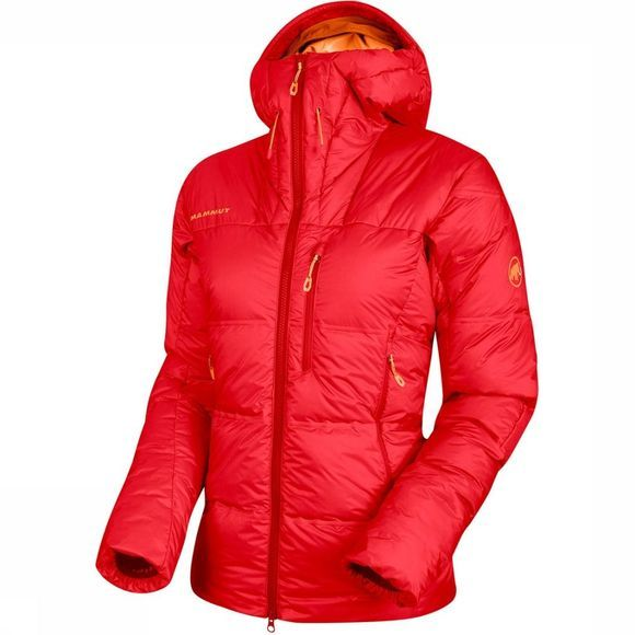 Mammut Eigerjoch Pro In Hooded Jas Dames Lichtrood