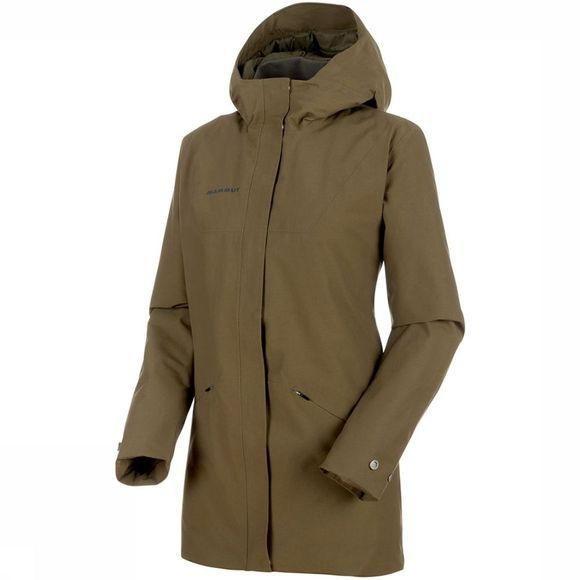 Mammut Chamuera HS Thermo Hooded Parka Dames Middengroen