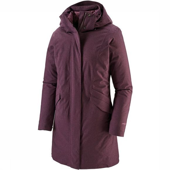 Patagonia Vosque 3-In-1 Parka Dames Lichtrood