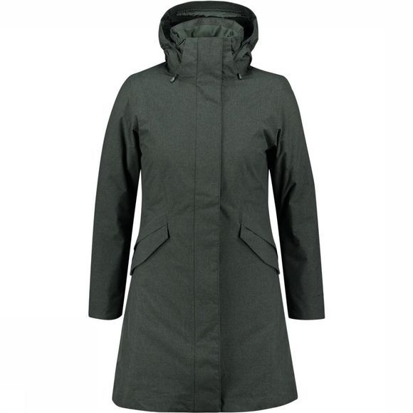 Patagonia Vosque 3-In-1 Parka Dames Donkergrijs