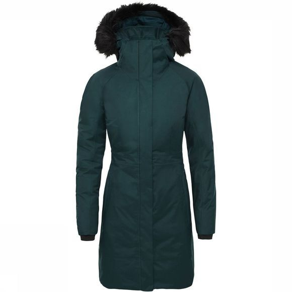 The North Face Arctic Parka II Dames Middengroen