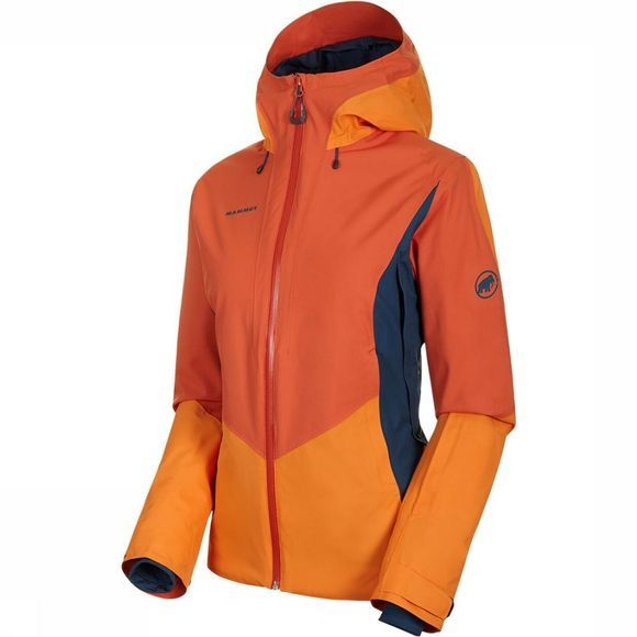 Mammut Casanna HS Thermo Hooded Jas Dames Middenrood/Oranje
