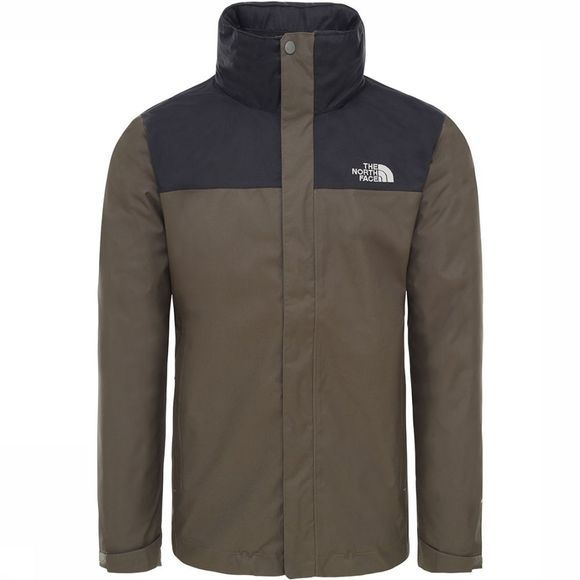 The North Face Evolve II Triclimate 3-in-1 Jas Taupe/Kameelbruin