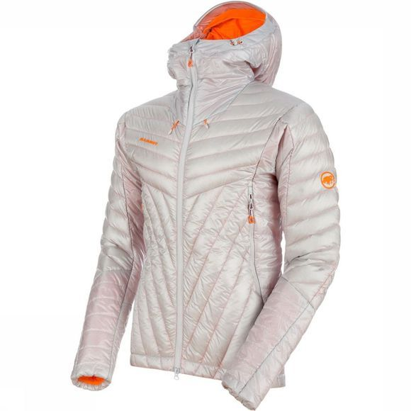 Mammut Eigerjoch Advanced In Hooded Jas Lichtgrijs
