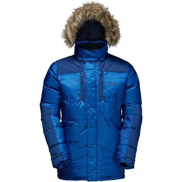 Jack Wolfskin The Cook Parka Blauw
