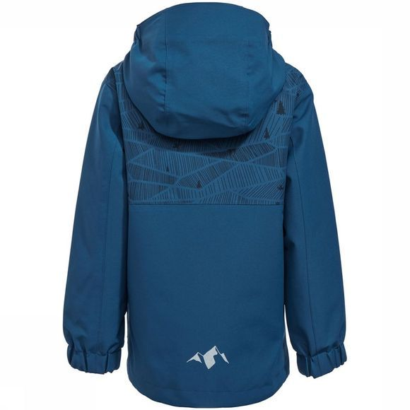 Vaude Campfire 3-in-1 IV Jas Junior Petrol