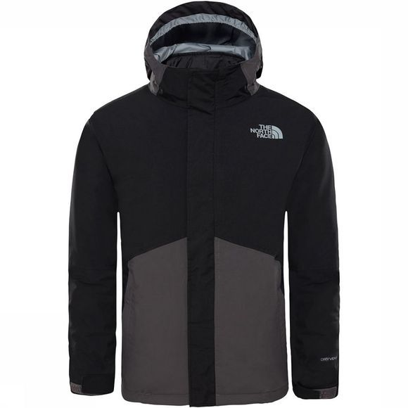 The North Face Boundary Triclimate Jas Jongens Donkergrijs