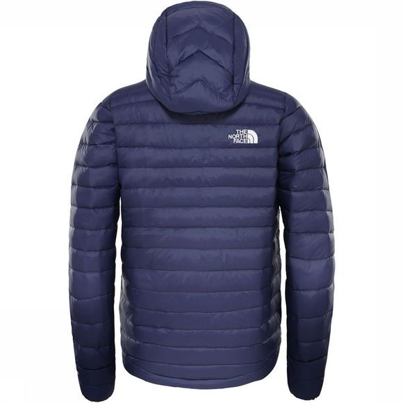 The North Face Aconcagua Down Hoodie Junior Jongens Indigoblauw