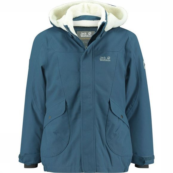Jack Wolfskin Great Bear Jas Junior Middenblauw