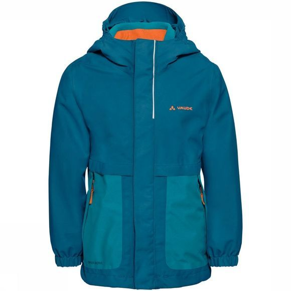Vaude Campfire 3in1 Jas Junior Middenblauw