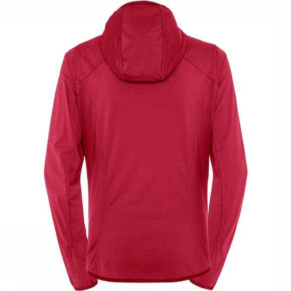 Vaude Durance Hooded Softshell Dames Rood