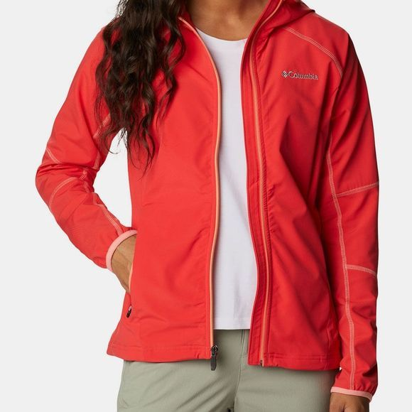 Columbia Sweet As Softshell Jas Dames Middenrood
