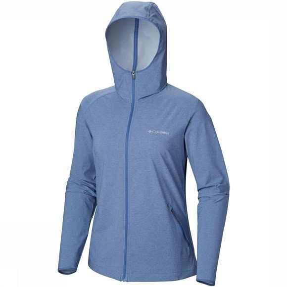 Columbia Heather Canyon Softshell Jas Jeansblauw