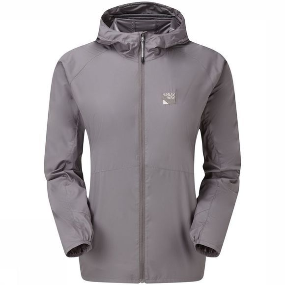 Sprayway Dusa Windbreaker Jas Dames Taupe