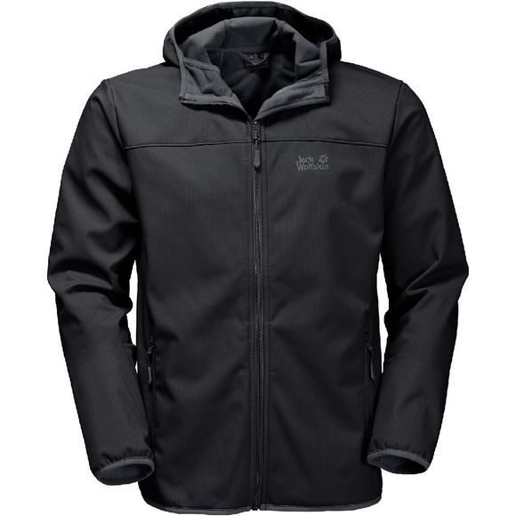 Jack Wolfskin Northern Point Softshell Zwart