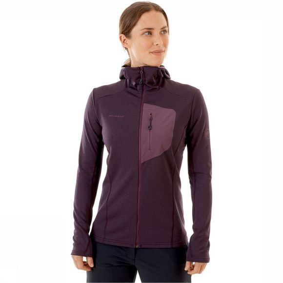 Mammut Aconcagua Light Hooded Jas Dames Paars