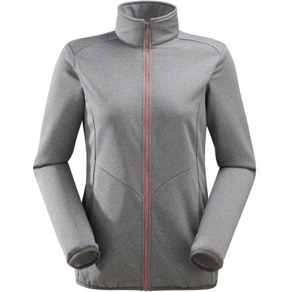 Lafuma Access Fleece Zip Dames Lichtgrijs Mengeling
