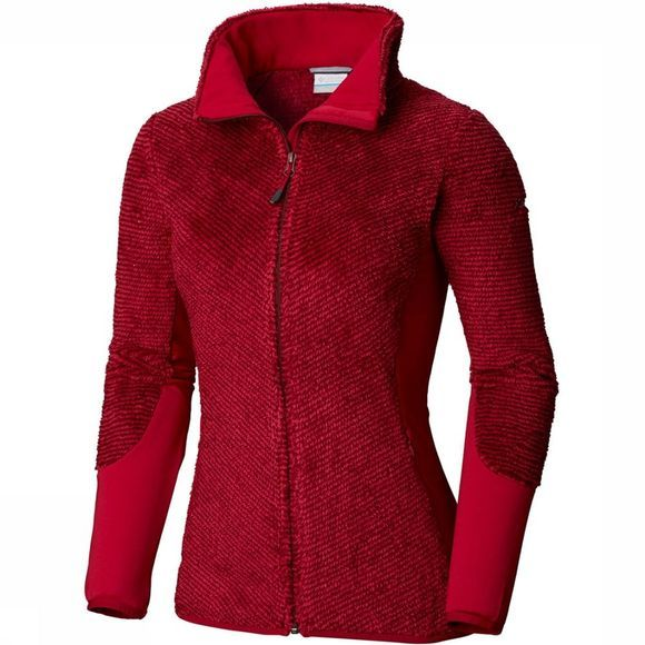Columbia Willow Falls Fleece Dames Donkerrood/Bordeaux
