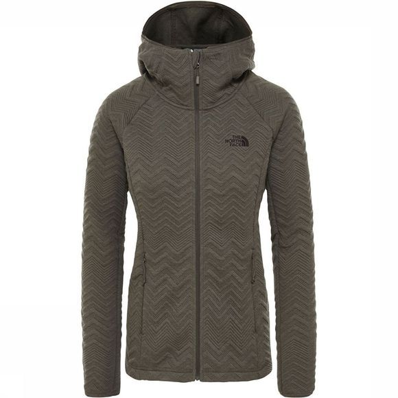 The North Face Inlux Tech Fleecevest Dames Taupe