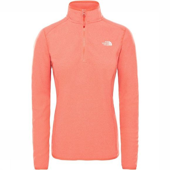 The North Face Glacier 1/4 Zip Trui Dames Middenrood