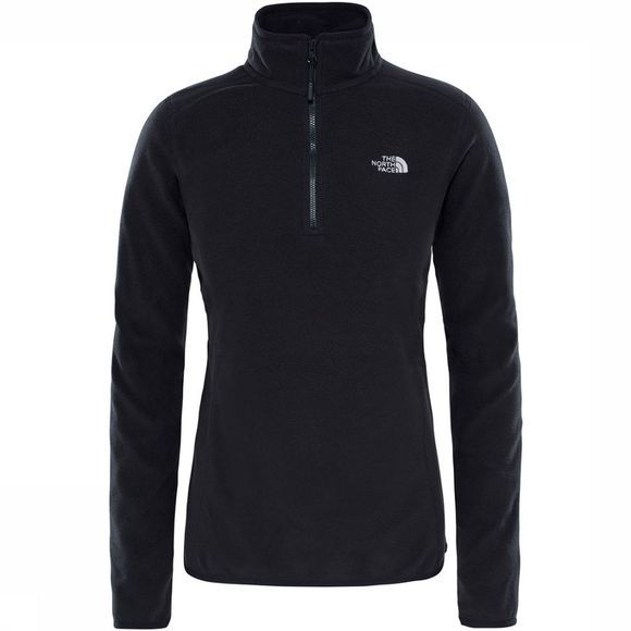 The North Face Glacier 1/4 Zip Trui Dames Zwart