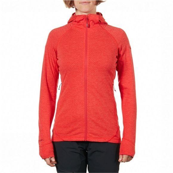 Rab Nexus Vest Dames Donkerrood