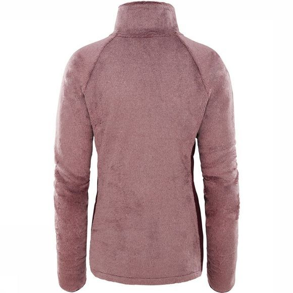 The North Face Osito 1/4 Zip Dames Middenpaars
