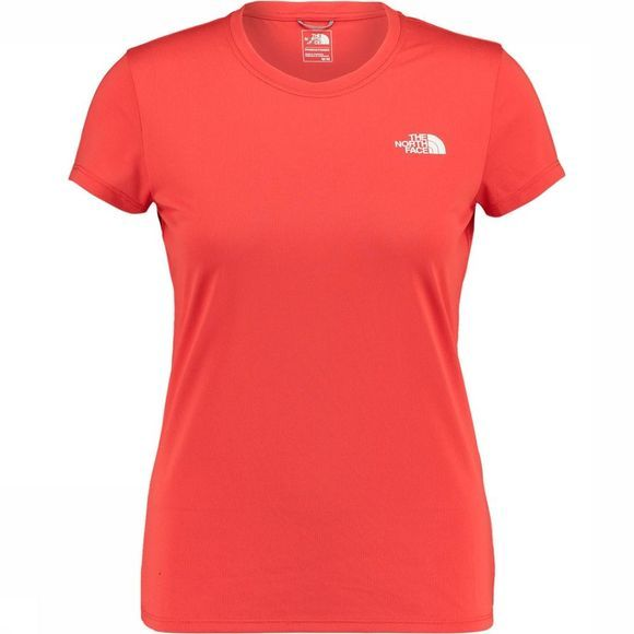 The North Face Reaxion Amp Crew Shirt Dames Rood/Wit