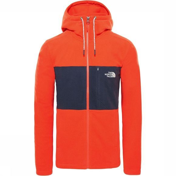 The North Face Blocked FZ Hoodie Jas Rood/Marineblauw