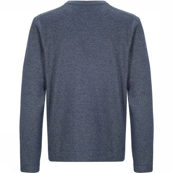 Supernatural Vacation Knit Crew Sweater Middenblauw