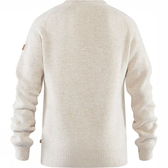 Fjällräven Greenland Re-Wool Crew-Neck Trui Gebroken Wit