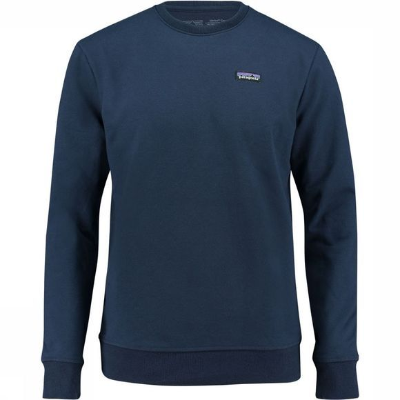Patagonia P-6 Label Uprisal Crew Shirt Marineblauw