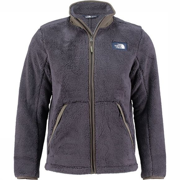 The North Face Campshire Full Zip Fleecevest Donkergrijs/Donkerkaki