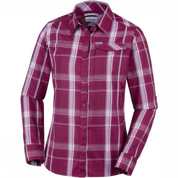 Columbia Silver Ridge 2.0 Plaid Long Sleeve Dames Middenpaars