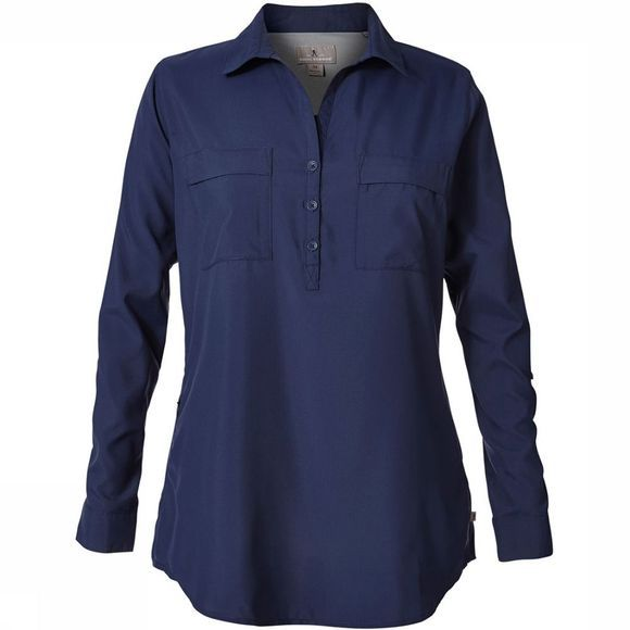Royal Robbins Bug Baier Expedition Shirt Dames Marineblauw