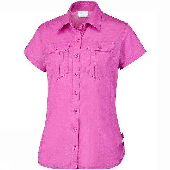 Columbia Camp Henry Solid SS Shirt Dames Middenpaars